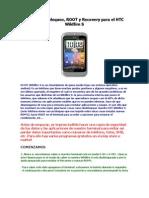 Guía de Desbloqueo, ROOT y Recovery para el HTC Wildfire S