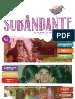 SUBAdante edición 1