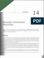 14. Strategic Investment Decisions