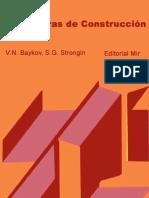 Estructuras de Construcción 1 - Editorial Mir