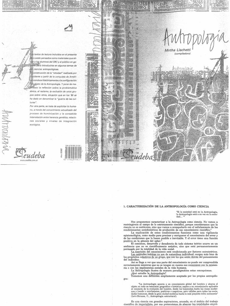 Lischetti Mirtha Antropologia
