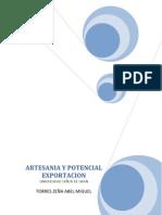 Artesania y Potencial Exportacion