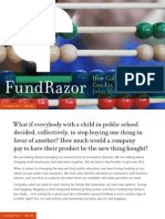 FundRazor -- How Collective Sourcing Can Fix Public Educatio