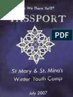 Camp Booklet 2007
