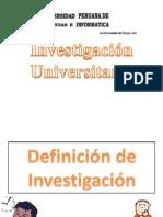 Investigacion Universitaria