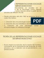 Teoria Representacion Social