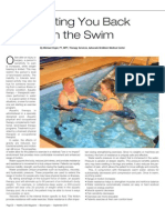September Aquatic Therapy