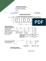 Analisis de Cargas Diseño de Viguetas y Deflexiones