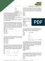 Lista de exercícios_gravitação universal