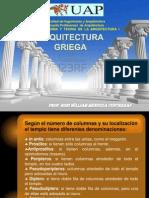 DIAPOSITIVAS ARQUITECTURA GRIEGA