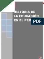 MONOGRAFÍA DE de educacion en el peru