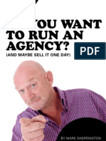 So You Want to Run an Agency? (and Maybe
