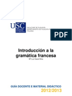 Introducin Gramtica Francesa