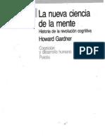 Nueva Ciencia de la Mente Gardner Howard
