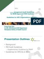 3_ Presentation on RM Audit ARC Guidelines