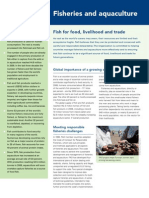 fisheries and agriculture