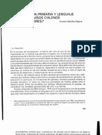 Socializacion Primaria Chile