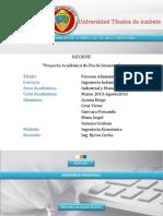 Informe Ingeniería económica