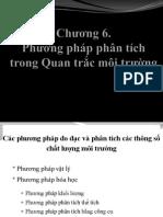 Quan trắc môi trường (Environmental monitoring Chapter 6)