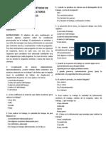 CUESTIONARIO DEL MÉTODO DE EVALUACIÓN DE FACTORES PSICOSOCIALES