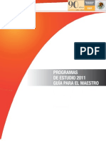 PROGRAMAS 2011 ESPAÑOL