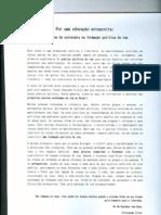 Panfleto educação