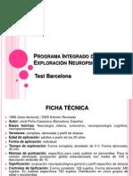 Programa Integrado de Exploración Neuropsicológica presentacion