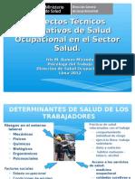 Salud Ocupacional en El Sector Salud