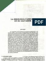 (1986a) La ideología familiar en El Salvador