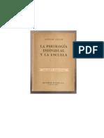Adler, Alfred - 1930 - La psicología individual y la escuela