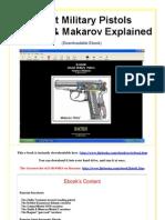 Soviet Military Pistols Tokarev & Makarov Explained