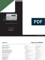 Grundig E10 Shortwave Radio Manual