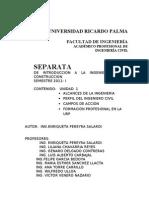 (1) SEPARATA DE INTRODUCCIÓN