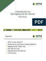Introduction to SpringSource dm Server