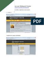 Tutorial Para Usar Webquest Creator
