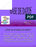 Base d Datos-Gaby Pozo