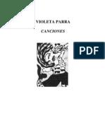 Parra Violeta - Canciones