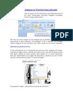 Empleo de imágenes en Word de forma adecuada