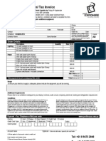 EXPO HIRE Electrical Order Form