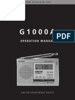 Grundig G1000A AM-FM-HF Reciever Manual