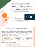 Phương pháp thử nghiệm độc tính (seminar)