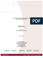 CRD OD Survey DailyTravelCharacteristicsReport