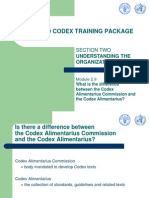 Section Two - 2.9 Commission vs Codex Alimentarius