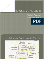 Carreteras de Adoquín