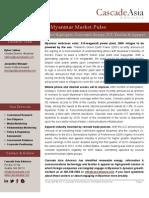 Myanmar Market Pulse 2013-08-15
