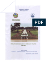 National Strategy Agriculture Water 2006-2010 En