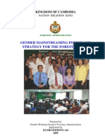 Policy and GMAP for the Forest Sector 2009 (Eng)