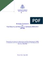 Strategic Framework for Food Security 2008-2012