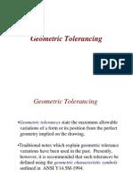 Positonal tolerancing