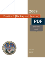 Practica1 [Backup and Restore]